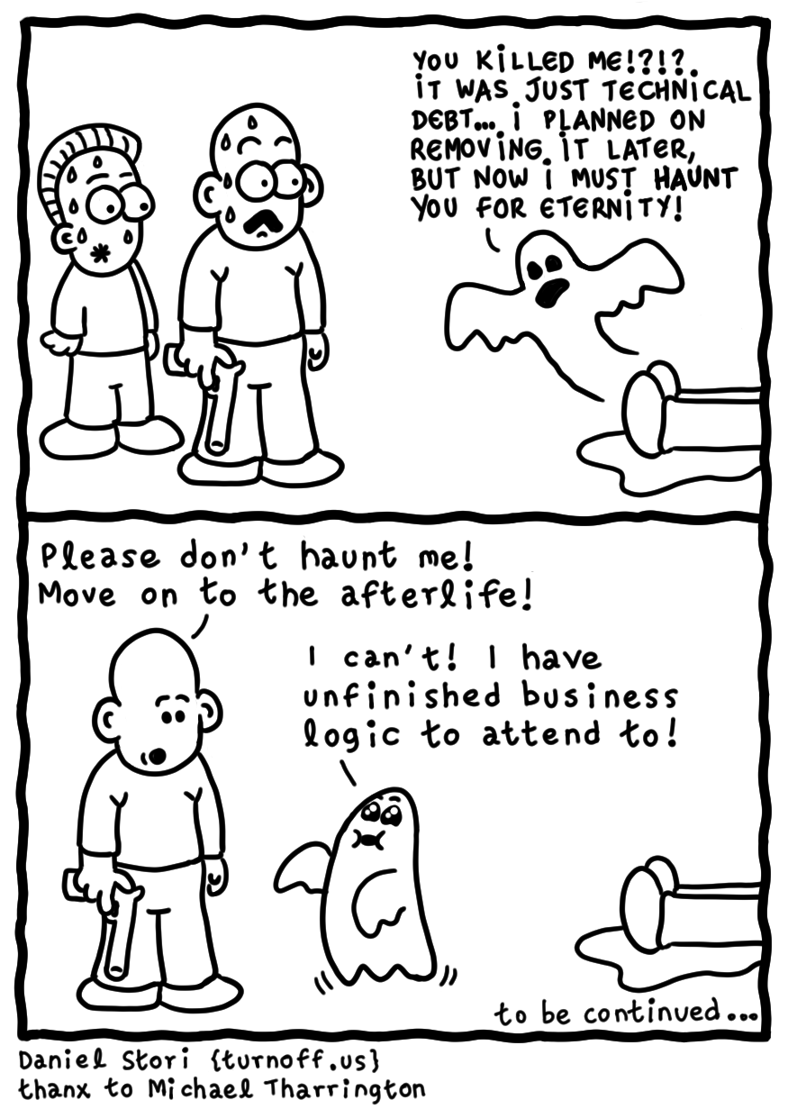 business logic on frontend geek comic