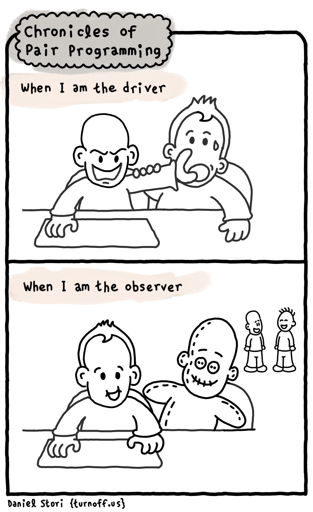 chronicles of pair programming 2 geek comic