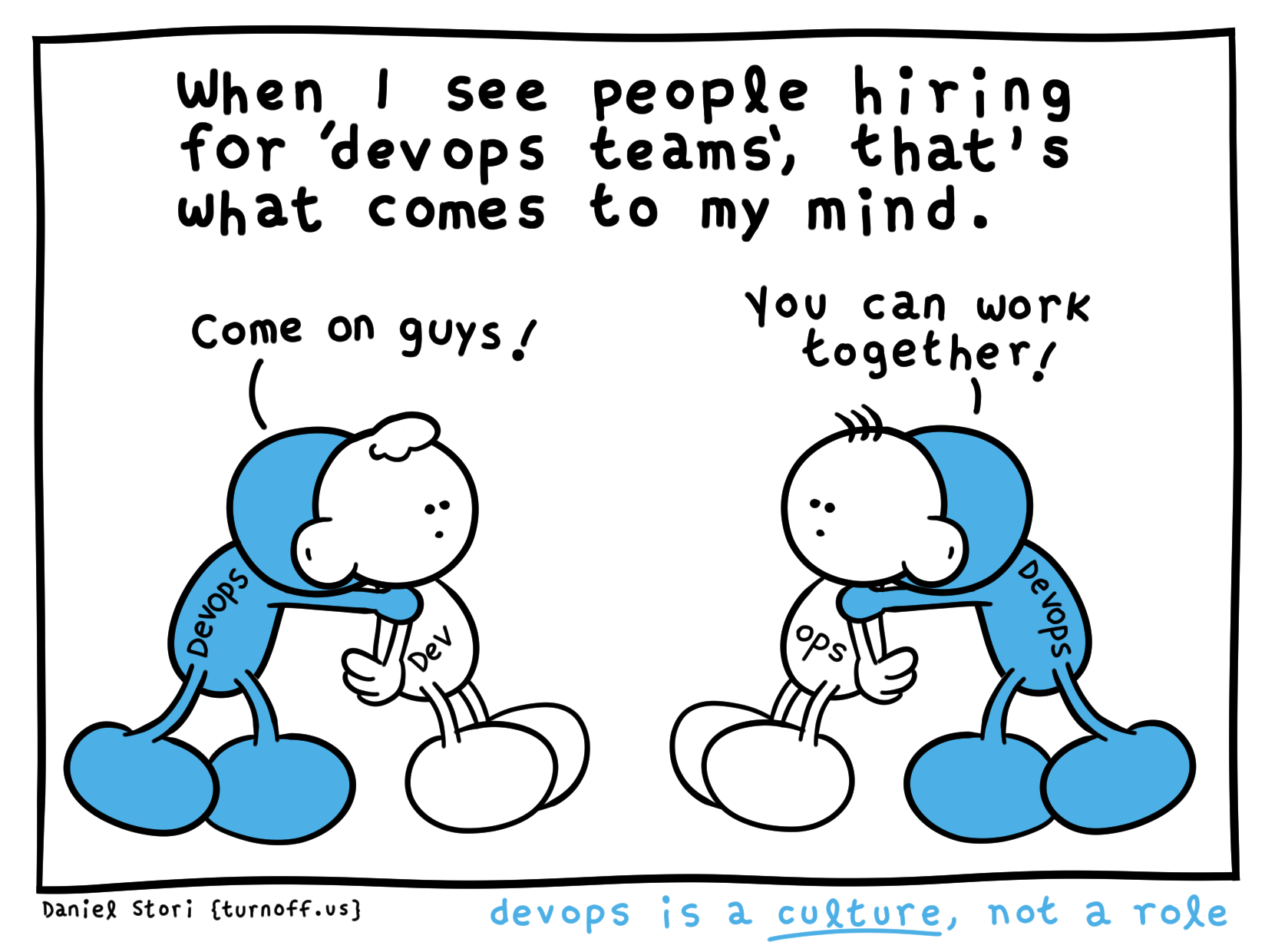 we are hiring devops geek comic