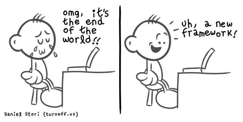 end of the world geek comic