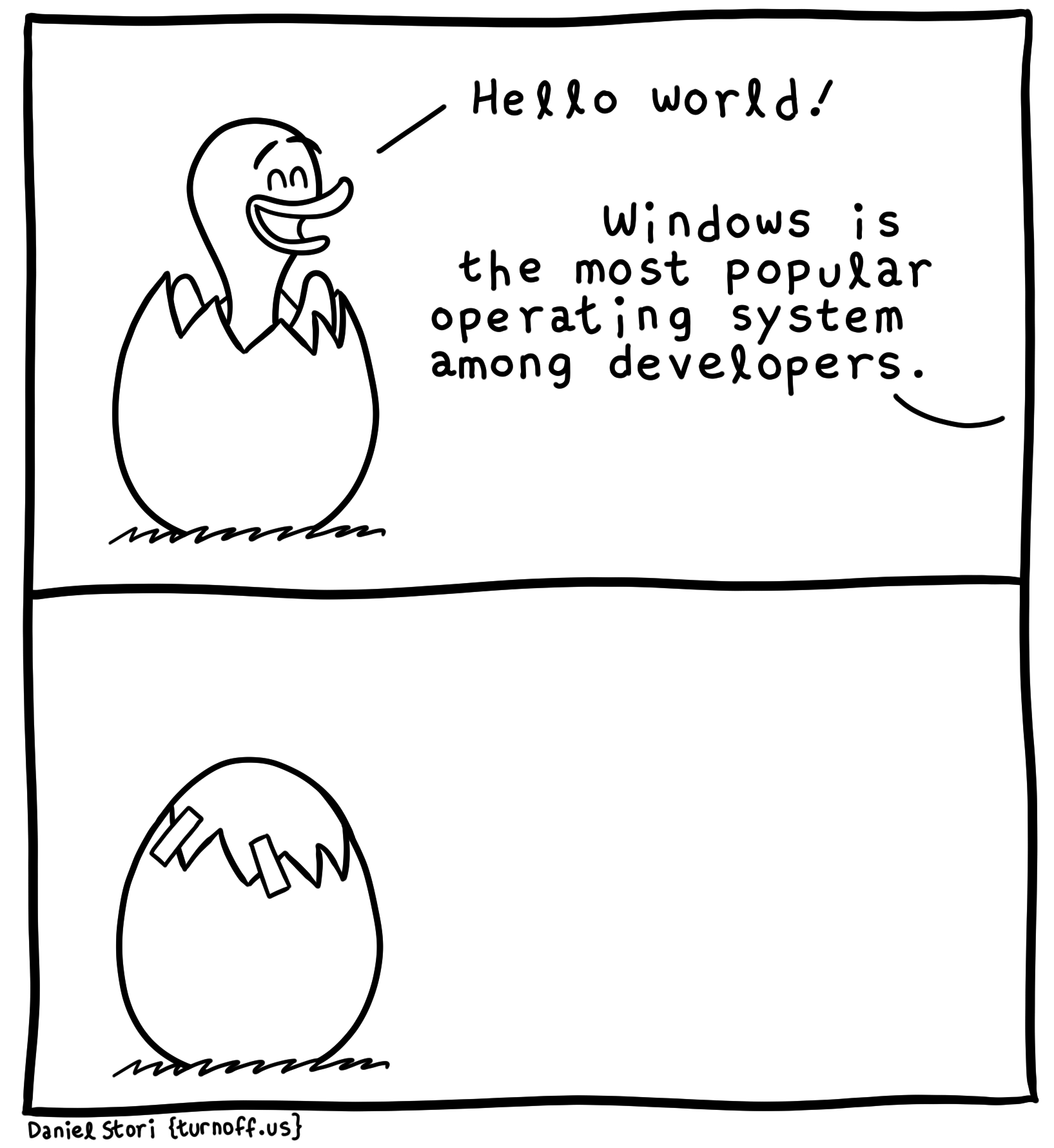 hello world! geek comic