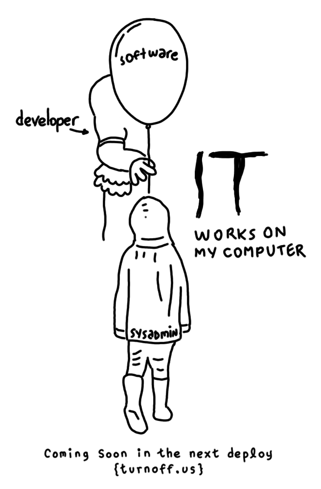 it - movie (programmer's version) geek comic