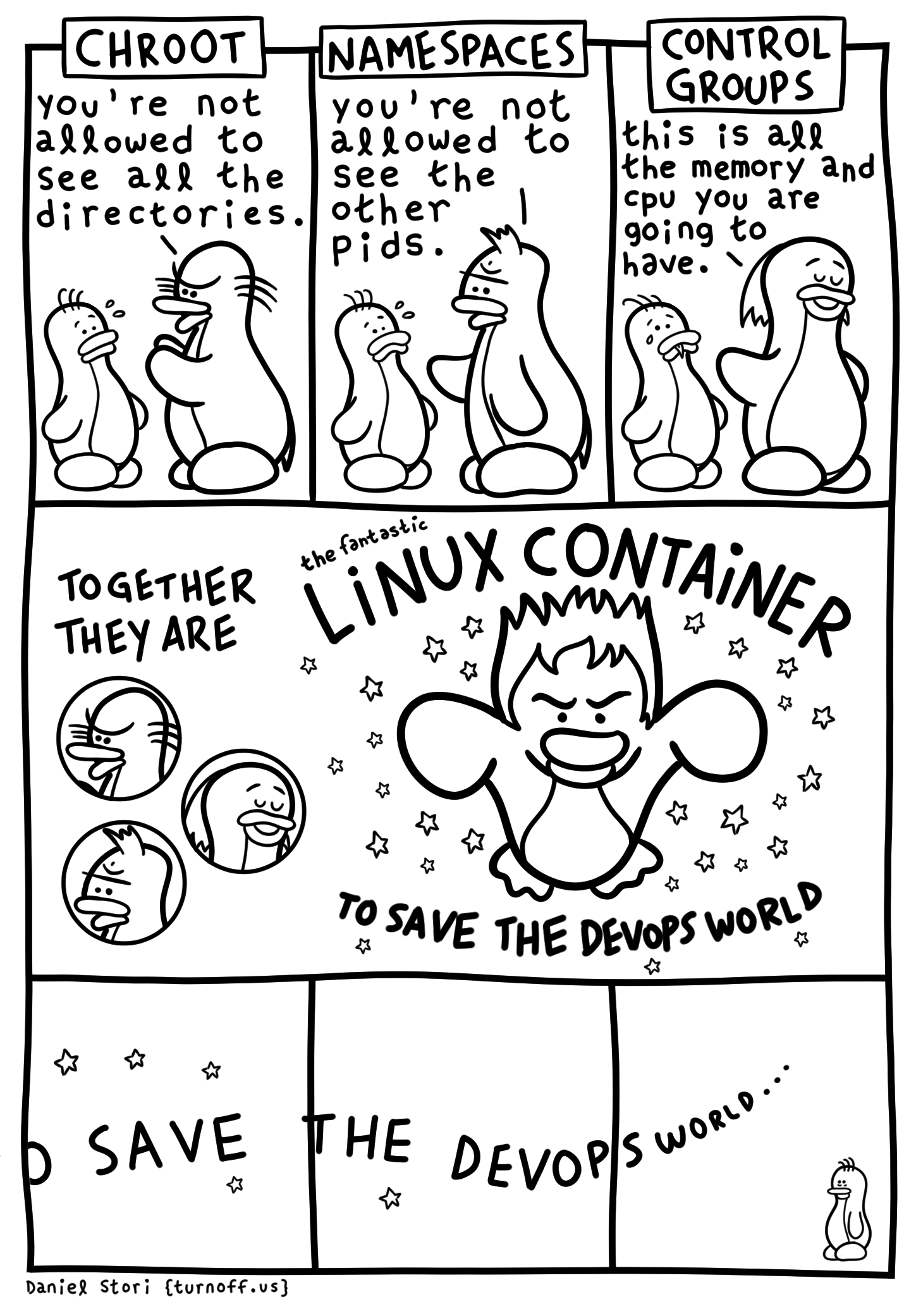 to save the devops world geek comic