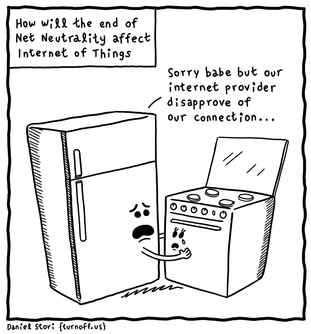 how will the end of net neutrality affect iot geek comic