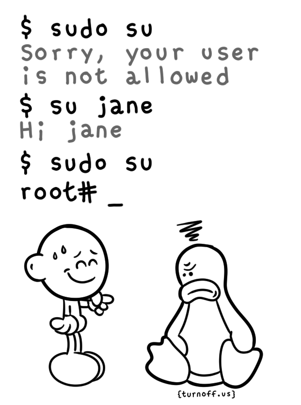 sudo prank geek comic