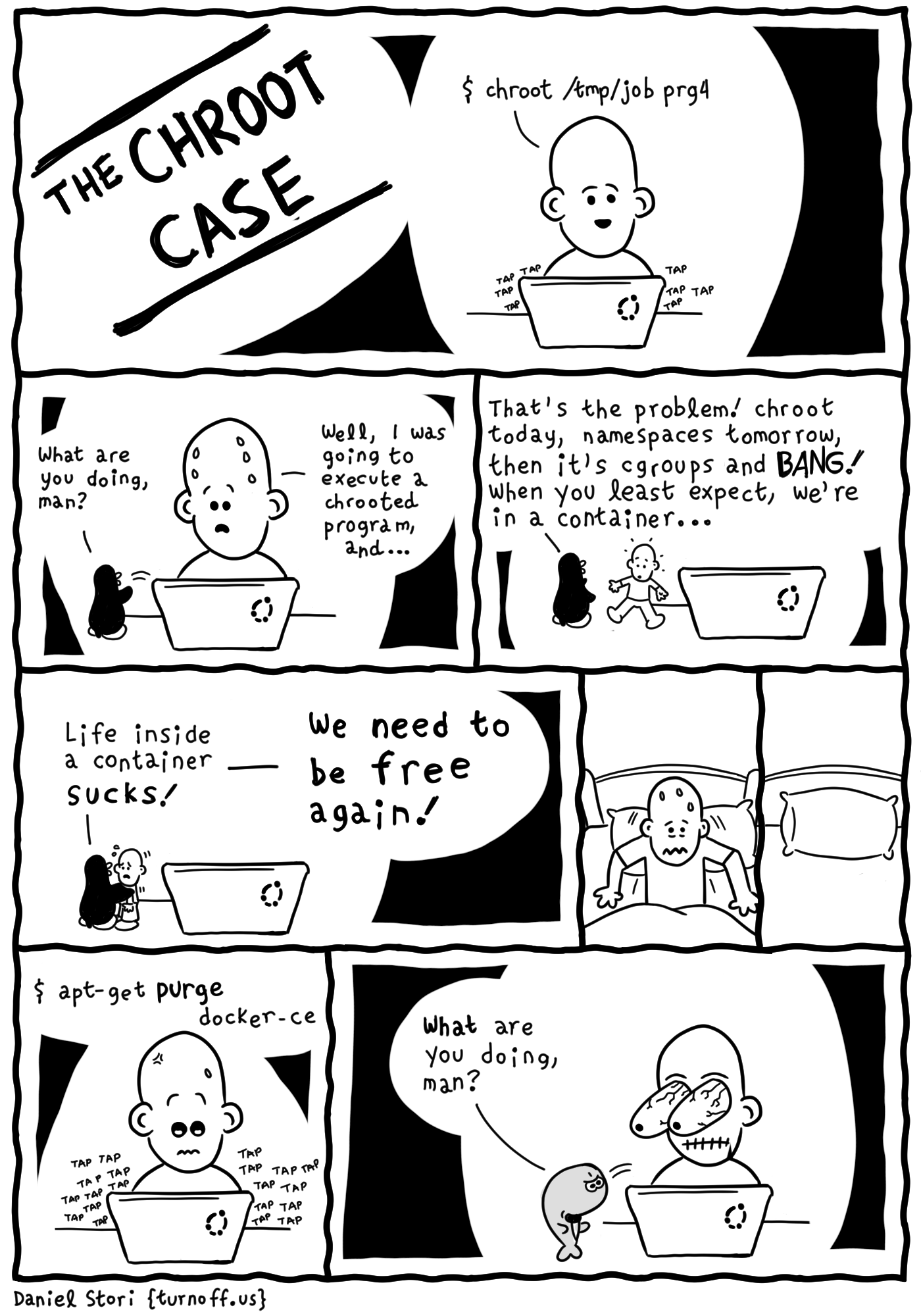 the chroot case geek comic