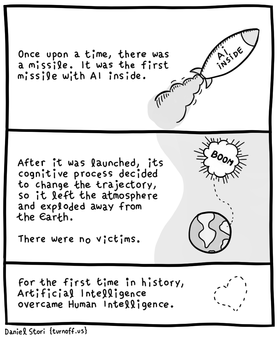 when ai meets war geek comic